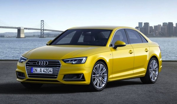 Official: 2016 Audi A4