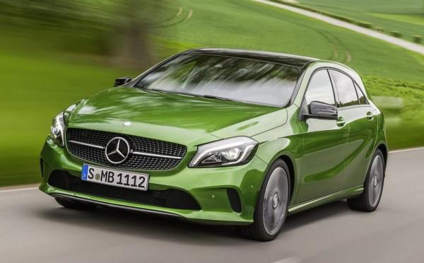 Official: 2016 Mercedes A-Class Facelift