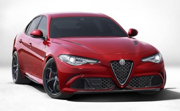 Alfa Romeo Giulia Officially Unveiled