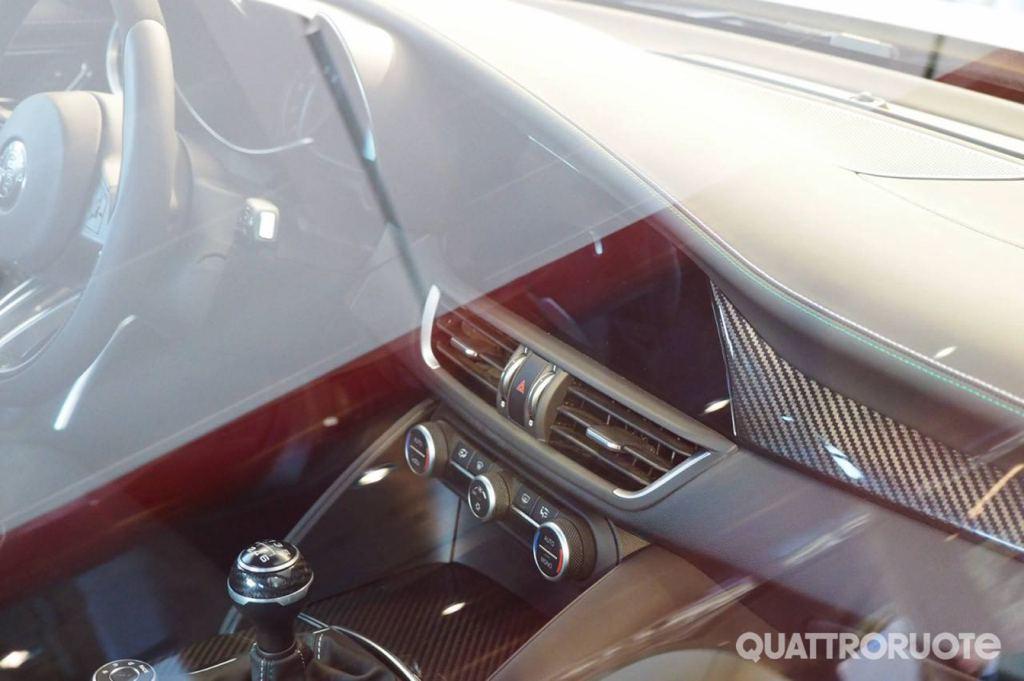 Alfa Romeo Giulia cabin 1 at Spyshots: Alfa Romeo Giulia Has an Awesome Interior!