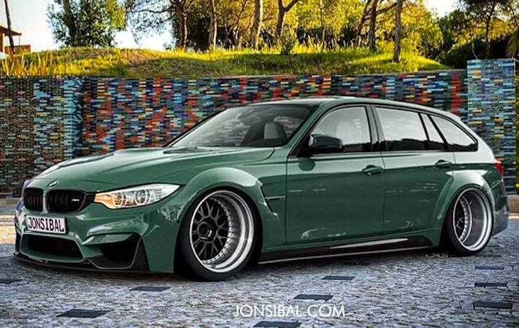 jon sibal renders the hell out of bmw m3 touring. Black Bedroom Furniture Sets. Home Design Ideas