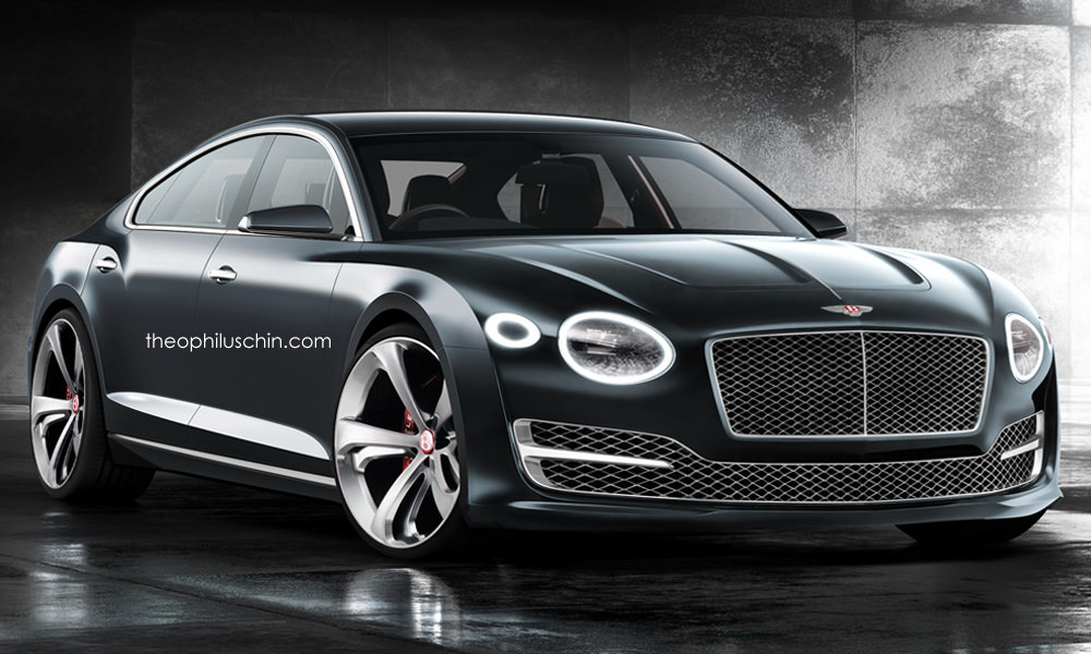 Bentley Four Door Coupe Has A Lot Of Promise