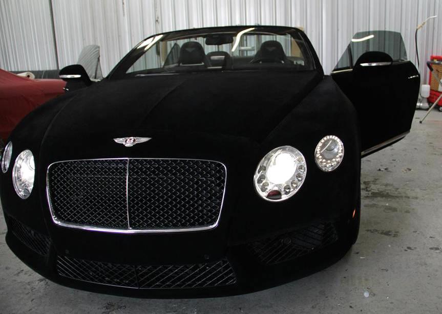 Wrap Of The Day Black Velvet Bentley Gtc