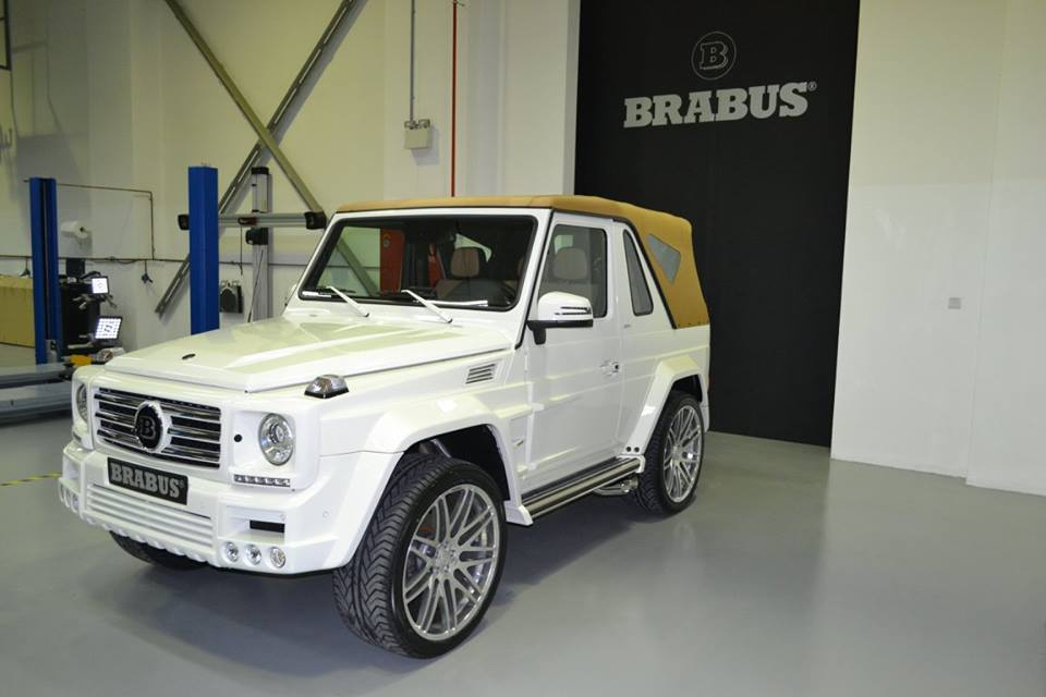 ugly duckling brabus mercedes g500 cabrio. Black Bedroom Furniture Sets. Home Design Ideas