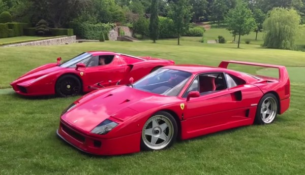 Ferrari Enzo F40-grass