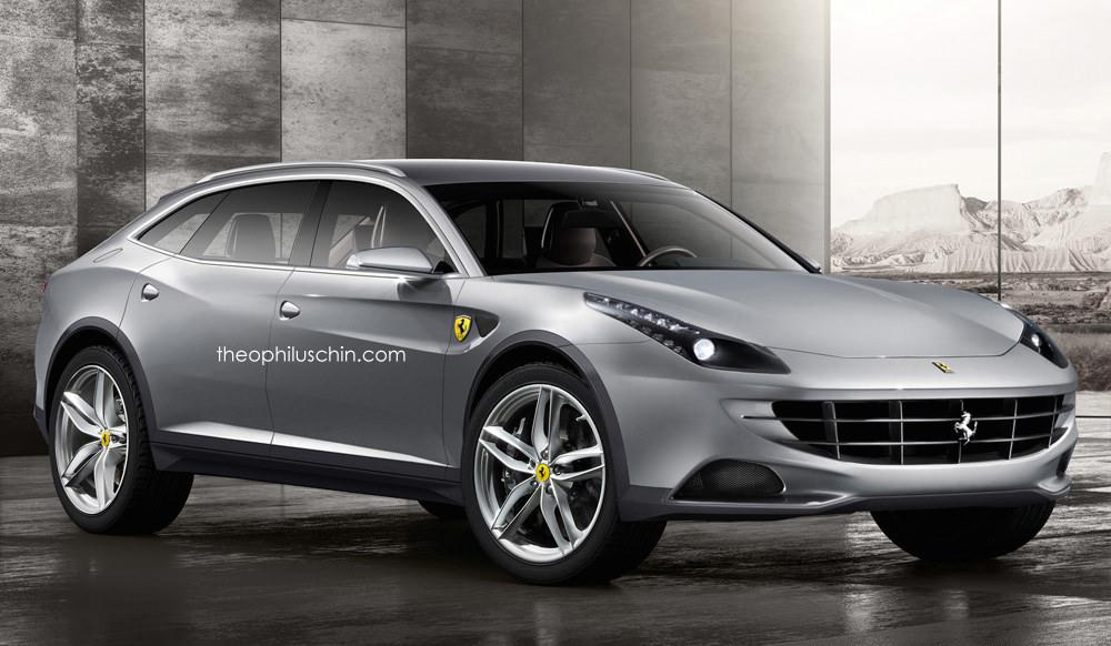 Rendering Ferrari Fx Suv
