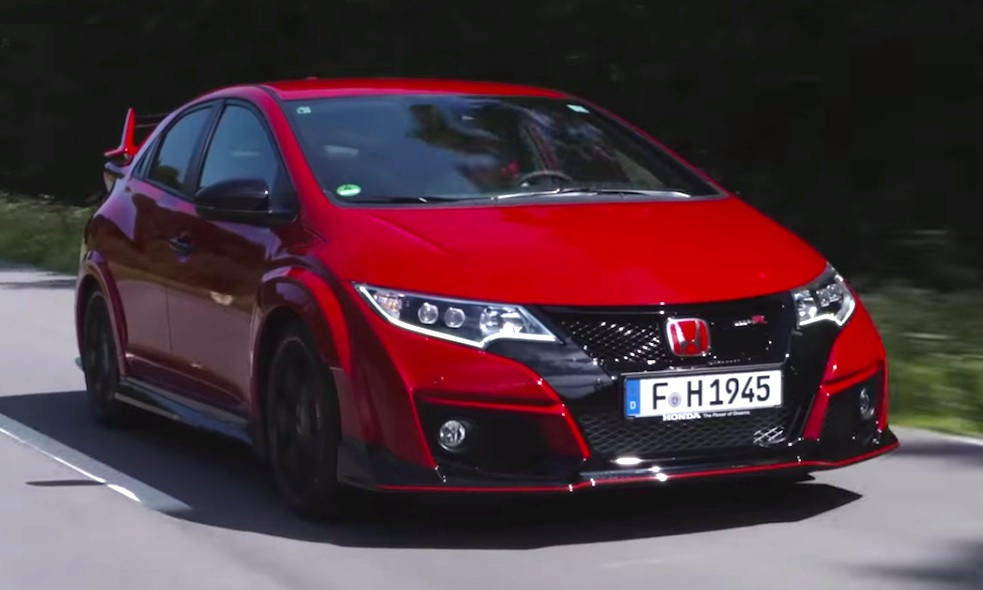 new honda civic type r tested on road and track. Black Bedroom Furniture Sets. Home Design Ideas