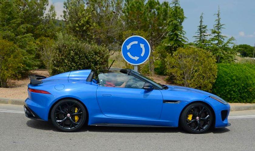 Ultra Blue Jaguar F-Ty...