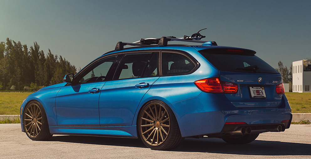 M3 Touring Alternative: Vossen BMW 328xi