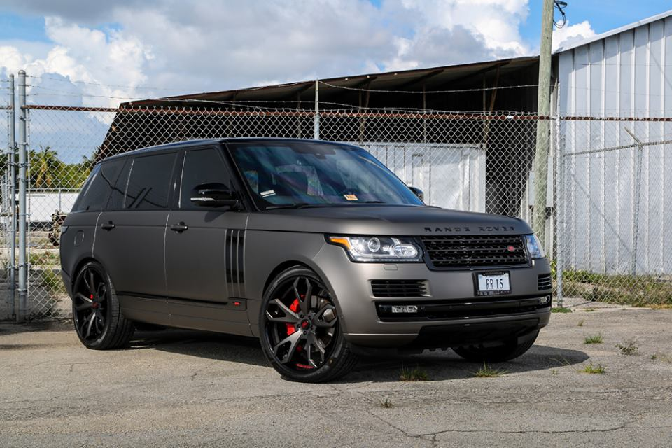 Range Rover Autobiography 2010 >> Gallery: Matte Grey Range Rover on Forgiato Wheels