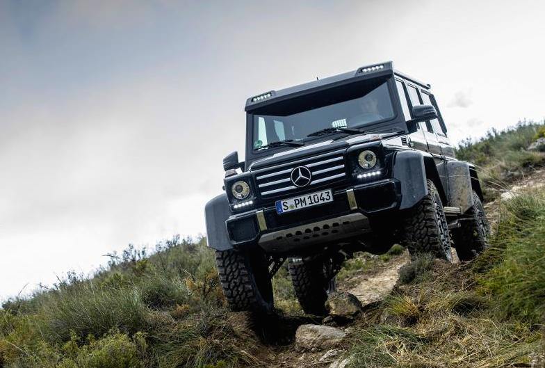 Mercedes G500 4×4² - SuperTunes