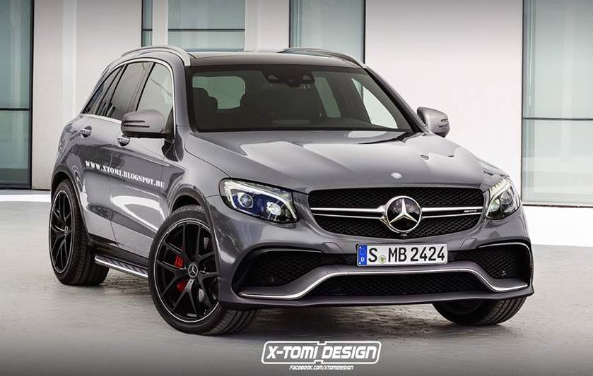 mercedes glc 63 amg already rendered. Black Bedroom Furniture Sets. Home Design Ideas