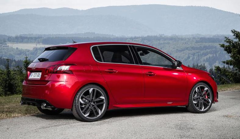 peugeot 308 gti revealed with 270 ps. Black Bedroom Furniture Sets. Home Design Ideas