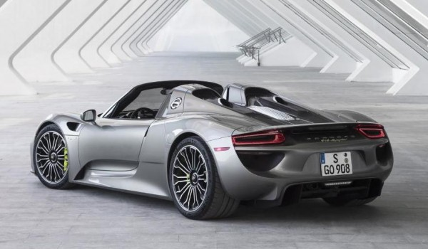 porsche 918 spyder production ends. Black Bedroom Furniture Sets. Home Design Ideas