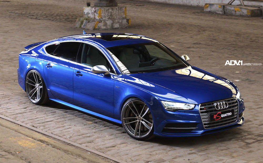 Mean-Looking Audi S7 by RS Quattro & ADV1 - Motorward
