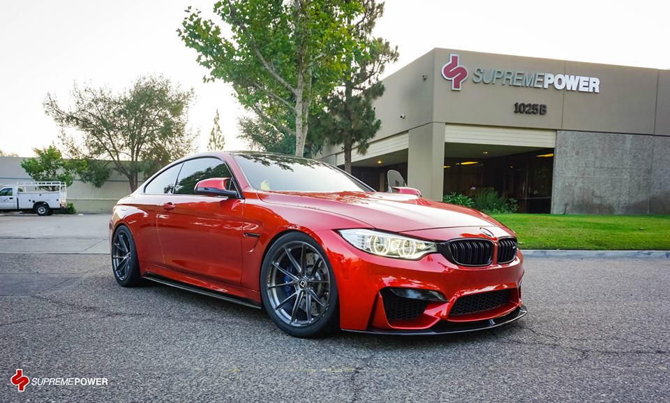 Sakhir Orange Bmw M4 By Supreme Power