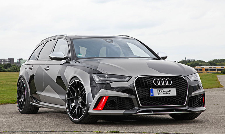 Schmidt Revolution Audi RS6 Has 680 PS  Motorward