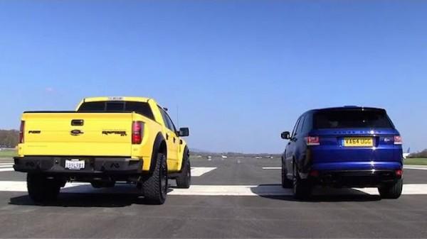 VelociRaptor Vs Range Rover