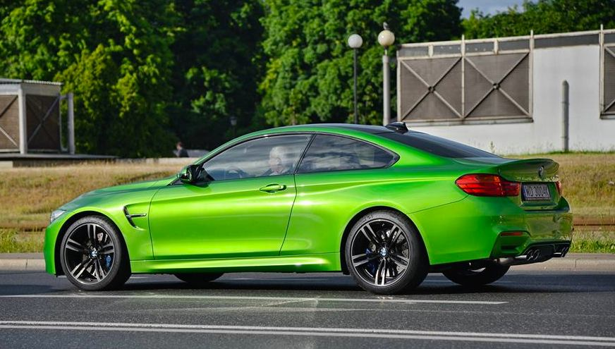 Warsaw In Chevrolet >> Java Green BMW M4 Spotted in Warsaw