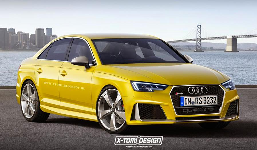 2017 Audi Rs4 Rendered In Sedan And Avant Guises