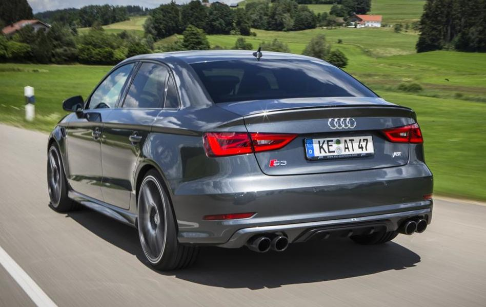 ABT Audi S3 Sedan Packs 400 PS