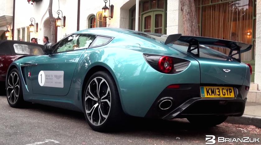 Aston Martin V Zagato SuperTunes - Aston martin v12 zagato