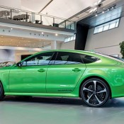 Apple Green Audi RS7-2