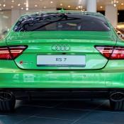 Apple Green Audi RS7-3