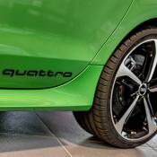 Apple Green Audi RS7-4