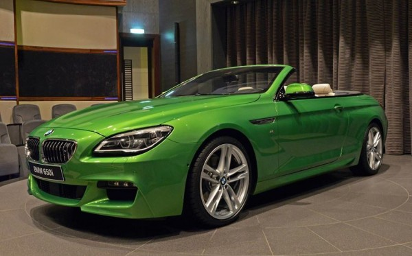 BMW 6 Series Convertible-Green-0