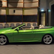 BMW 6 Series Convertible-Green-1