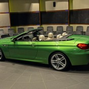BMW 6 Series Convertible-Green-2