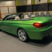 BMW 6 Series Convertible-Green-3