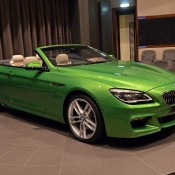 BMW 6 Series Convertible-Green-7