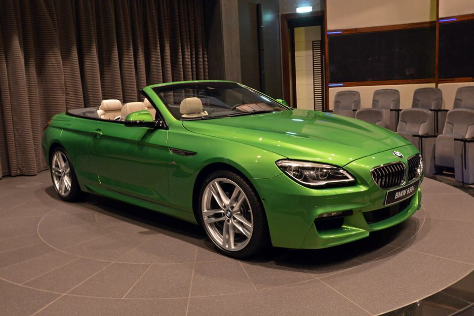 gallery bmw 6 series convertible in candy green. Black Bedroom Furniture Sets. Home Design Ideas