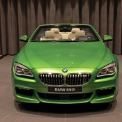 BMW 6 Series Convertible-Green-8