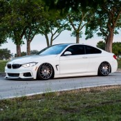 Bagged BMW 4 Series-3