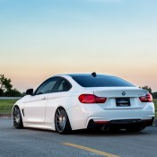 Bagged BMW 4 Series-5