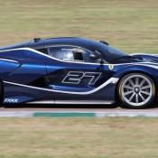 Blue Ferrari FXX K-1