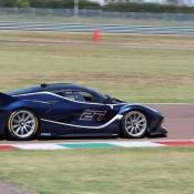 Blue Ferrari FXX K-3