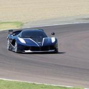 Blue Ferrari FXX K-4