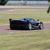 Blue Ferrari FXX K-5