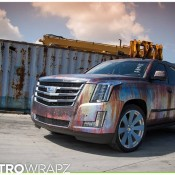 Cadillac Escalade Rust Chrome 3 175x175 at Cadillac Escalade Rust Chrome by Metro Wrapz