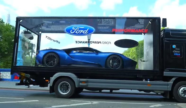 Ford Gt Tours London X At Ford Gt Tours London Boxed Like A Toy Car