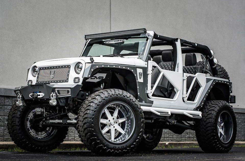 Forgiato Jeep Wrangler By Brian S Motorsports