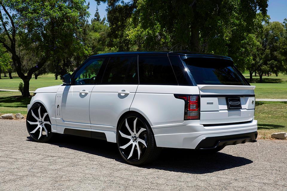 Custom Range Rover Vogue By Forgiato