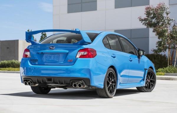 HyperBlue Subaru WRX