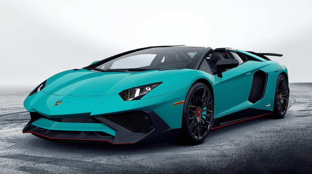 First Look: Lamborghini Aventador SV Roadster  Motorward