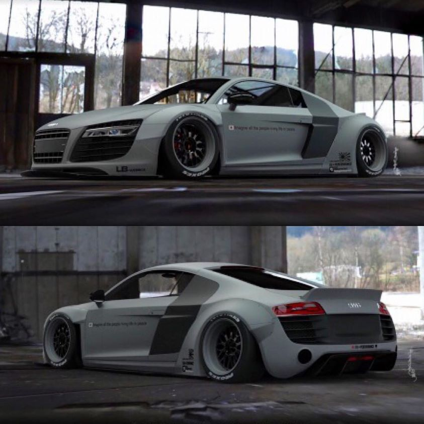 Preview Liberty Walk Audi R8