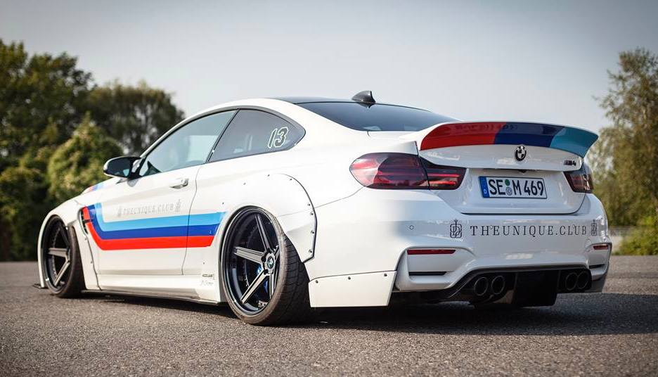 Eye Candy Liberty Walk Bmw M4 In M Livery